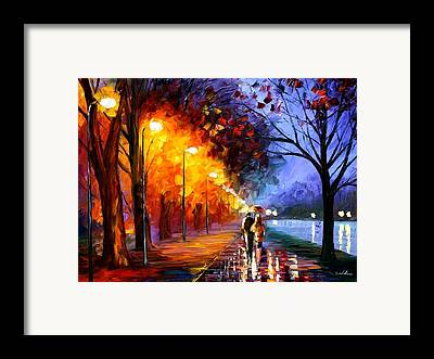 Afremov Framed Prints