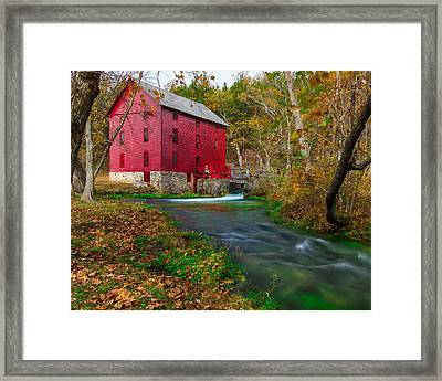 Alley Mill 8x10 Framed Print