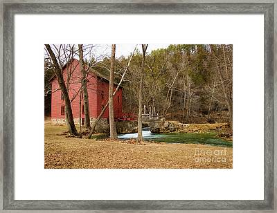 Alley Mill Framed Print