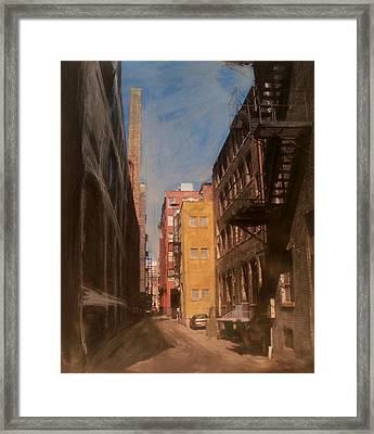 Alley Series 2 Framed Print by Anita Burgermeister