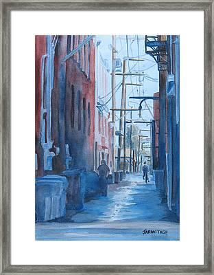 Alley Shortcut Framed Print by Jenny Armitage