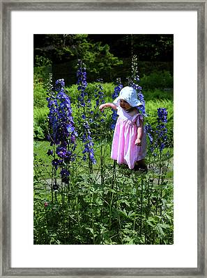 Framed Print featuring the photograph Allie by Carol Kinkead