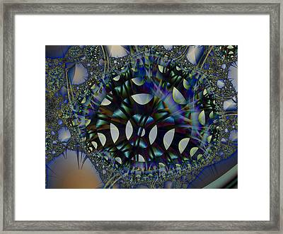 Allien Gears Framed Print by Frederic Durville