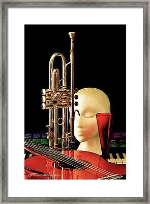 Allison's Horn Framed Print