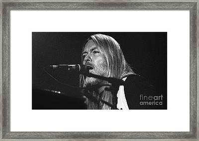 Allman Brothers-gregg-0171 Framed Print by Gary Gingrich Galleries