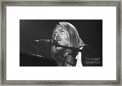 Allman Brothers-gregg-0172-5 Framed Print by Gary Gingrich Galleries