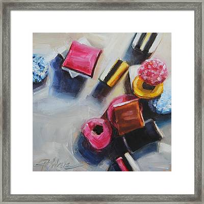 Allsorts Framed Print by Tracy Male