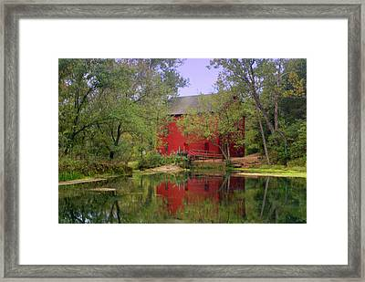 Allsy Sprng Mill 2 Framed Print