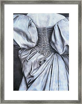 Allure Framed Print by Lawrence Supino