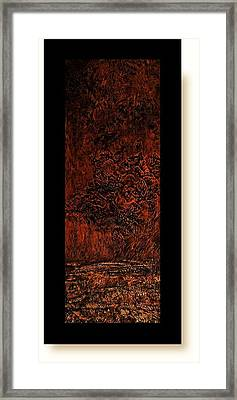 Allure Of Earth 9 Framed Print