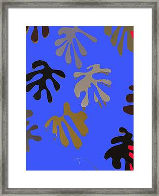 Allusion To Matisse Framed Print by Helen Eging