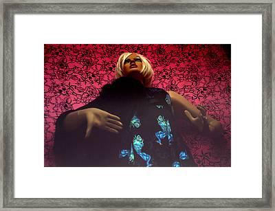 Allyson Framed Print by Jez C Self