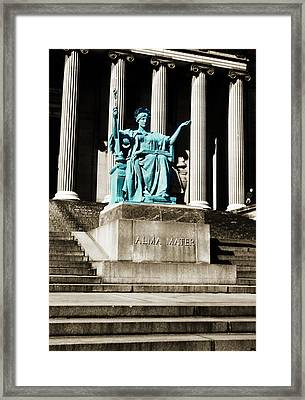 Alma Mater Framed Print by Marilyn Hunt