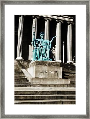 Alma Mater Framed Print