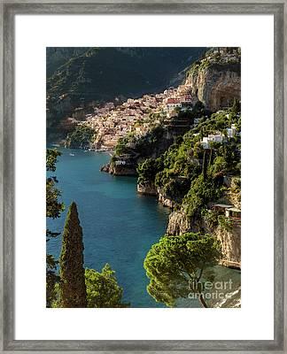 Almalfi Coast Framed Print by Brian Jannsen