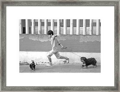 Almeria 36 Framed Print by Jez C Self