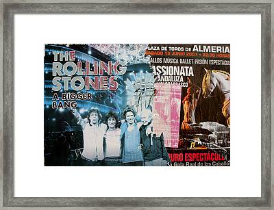 Almeria 58 Framed Print by Jez C Self