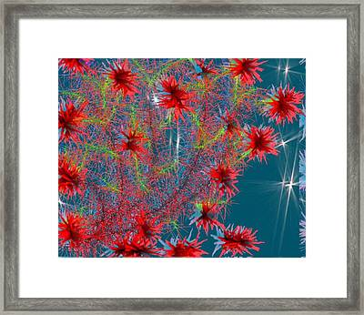 Almog-corall Tree Framed Print by Dr Loifer Vladimir