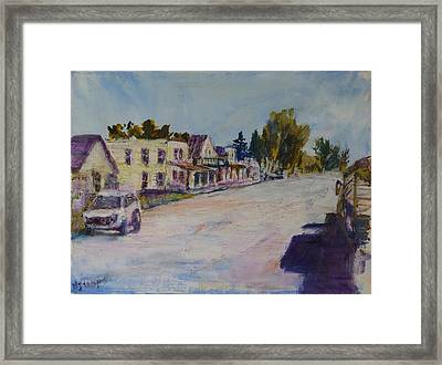 Almont  Framed Print by Helen Campbell