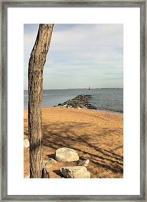 Almost A Bridge Framed Print by Steve Kenney