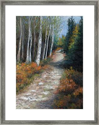 Almost Autumn Framed Print by Susan Jenkins
