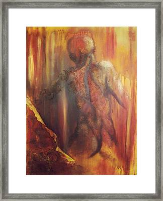 Almost Beyond2 Framed Print by Hoparte Gallery