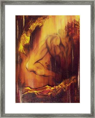 Almost Beyond4 Framed Print by Hoparte Gallery