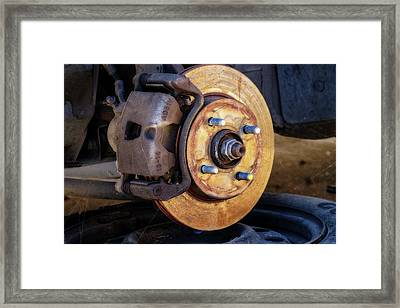 Almost Changed Framed Print