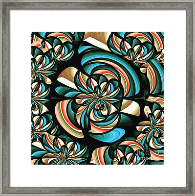 Almost Floral Abstract Framed Print by Gaspar Avila