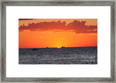 Almost Gone Framed Print by Brian Flannery