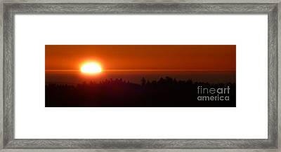 Almost Gone Framed Print by JoAnn SkyWatcher