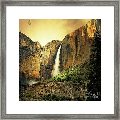 Almost Heaven 7d6129 V2 Square Framed Print
