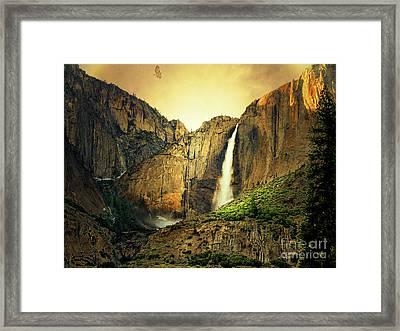 Almost Heaven 7d6129 V2 Framed Print