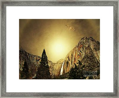 Almost Heaven . Full Version Framed Print by Wingsdomain Art and Photography