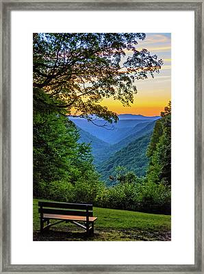 Almost Heaven - West Virginia 3 Framed Print