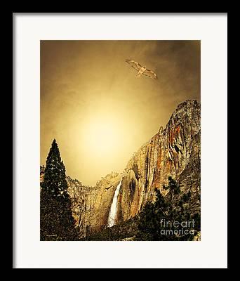 Wings Domain Mixed Media Framed Prints