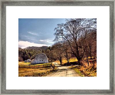 Almost Home Framed Print by David Walsh