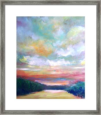 Almost Home Framed Print by Patricia Taylor
