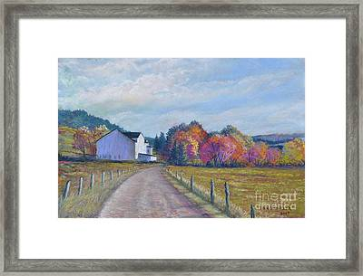 Almost Home Framed Print by Penny Neimiller