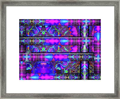 Framed Print featuring the digital art Almost Home by Robert Orinski