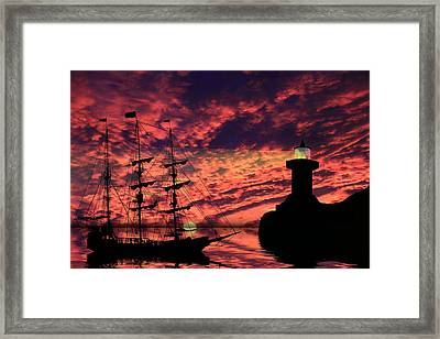 Almost Home Framed Print by Shane Bechler