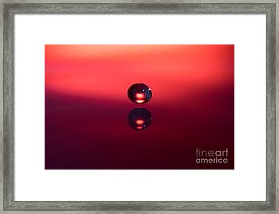 Almost Kissing Framed Print