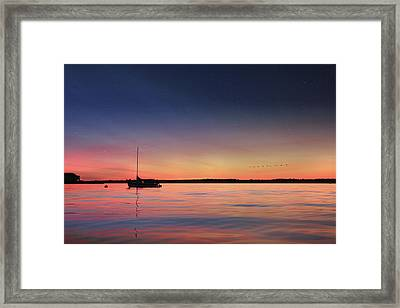 Almost Paradise Framed Print by Lori Deiter