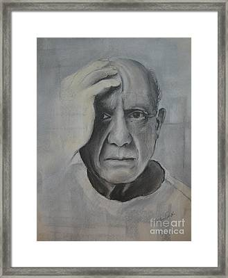 Almost Picasso Framed Print