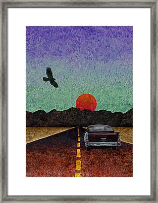 Almost There Framed Print