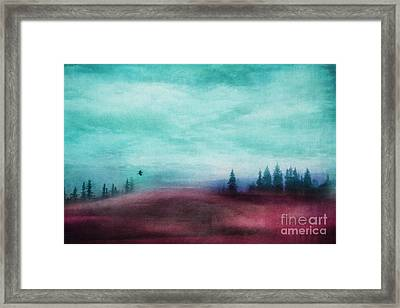 Almost There Framed Print by Priska Wettstein