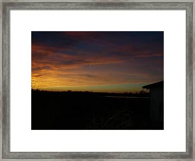 Almost There Framed Print by Traci Goebel