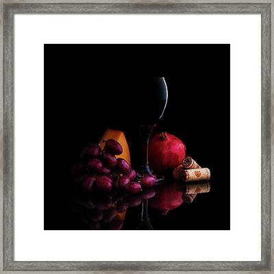 Almost Wine Framed Print
