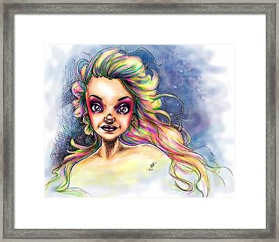 Almostrainbows Framed Print by Mirja Timm