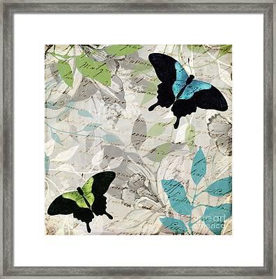 Aloft I Framed Print by Mindy Sommers
